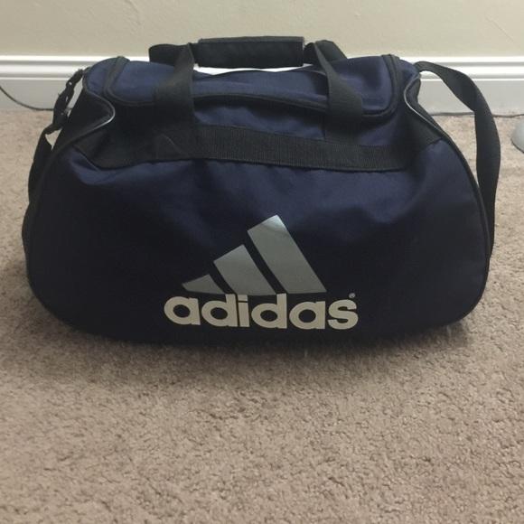 Adidas Bags | Navy Blue Gym Bag | Poshma