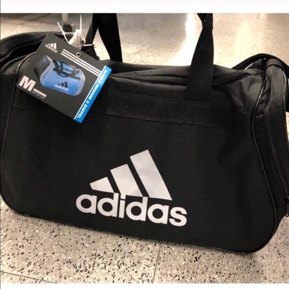 adidas Bags | Gym Bag Medium Duffle Bag Duffel | Poshma