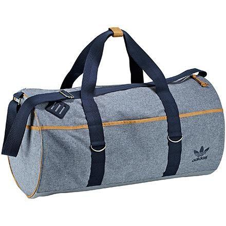 Adidas Men's Two-Tone Duffel Bag | Gym bag essentials, Mens gym .