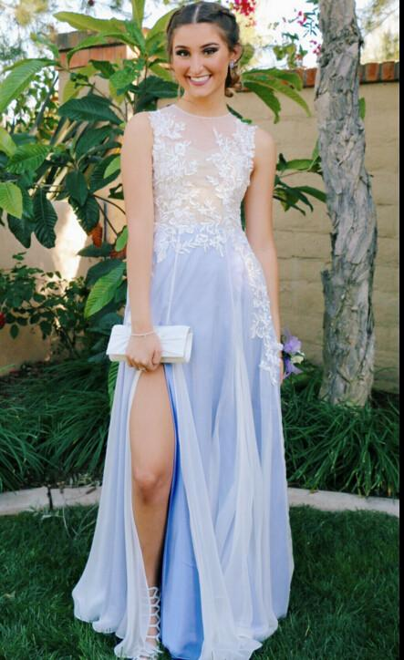 Affordable Prom Dress with Slit, Prom Dresses, Graduation Party .