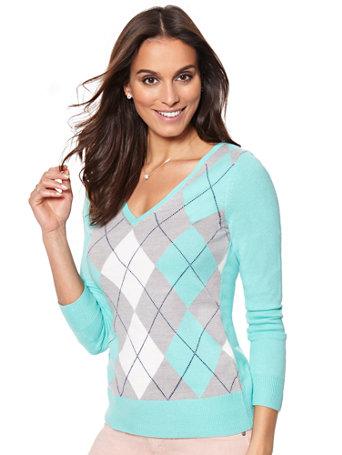 NY&C: Waverly V-Neck Sweater - Argy