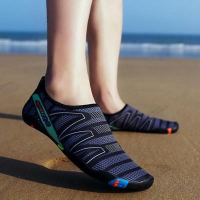 Water Shoes Mens Beach Swim Shoes Quick-Dry Aqua Socks Pool Shoes .