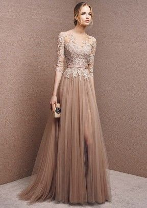 Best Prom Dresses of the Year | Long sleeve bridesmaid dre