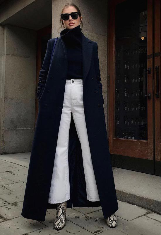 White Jeans -street style | How to wear white jeans, Fashion .