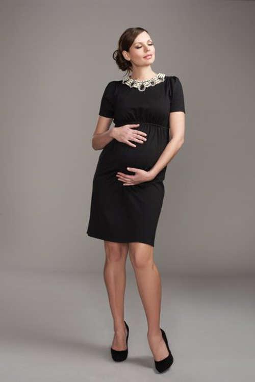 Black Maternity Dresses - Fashion Show