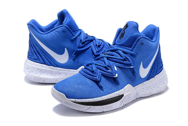 Men's Basketball Shoes Nike Kyrie 5 Duke Blue Devils PE .