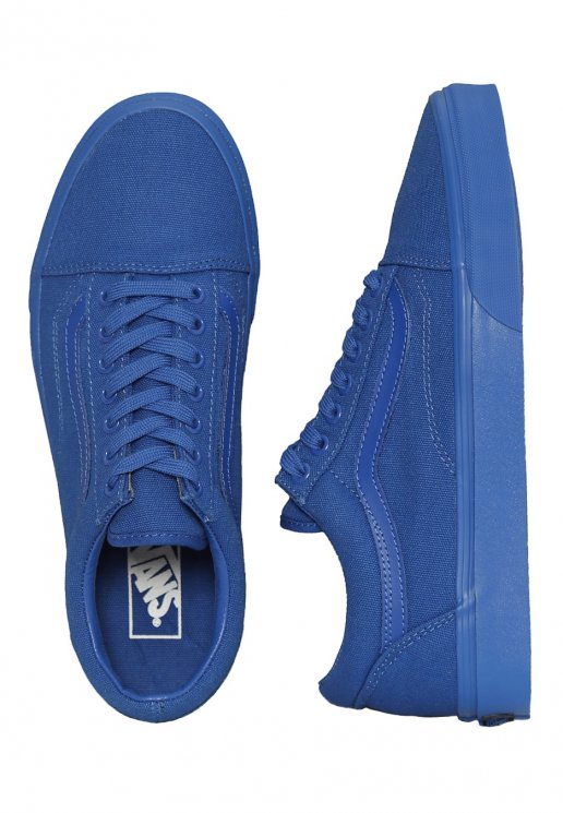 Vans - Old Skool Nautical Blue - Girl Shoes - Impericon.com