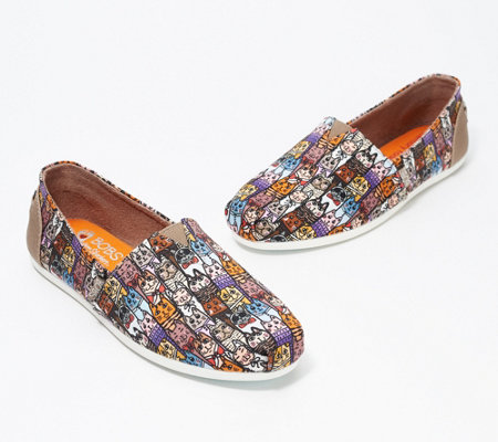 Skechers BOBS Slip-On Shoes - Alley Cat — QVC.c