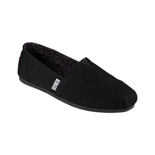 Bobs From Skechers Women's Plush Peace and Love Flat Shoes Size 5 .