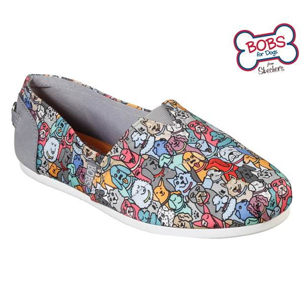 Skechers BOBS Women's BOBs Plush Woof Party Shoes - 33182-MLT-6 .