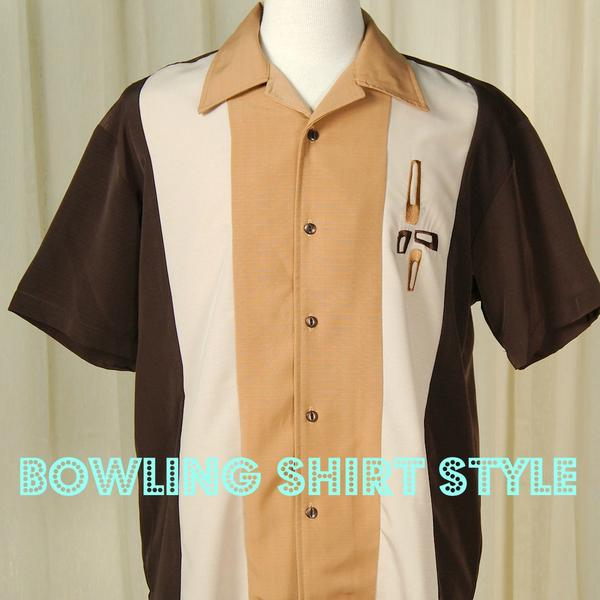 Mens Retro Style: What To Wear With A Bowling Shirt – Cats Like