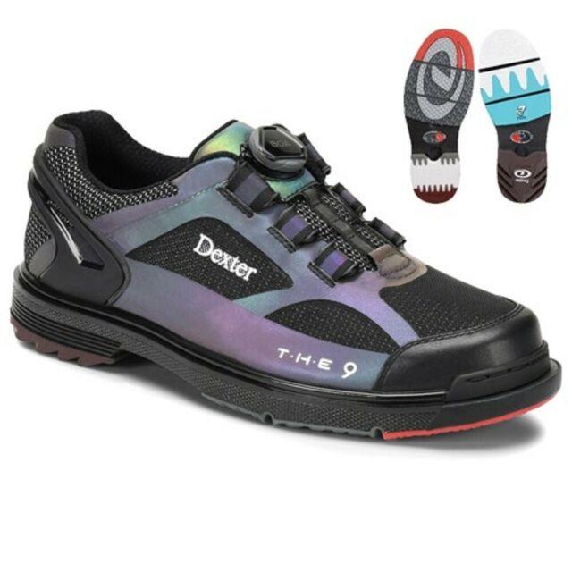 Mens Dexter SST THE 9 HT Boa Color Shift Bowling Shoes Soles .