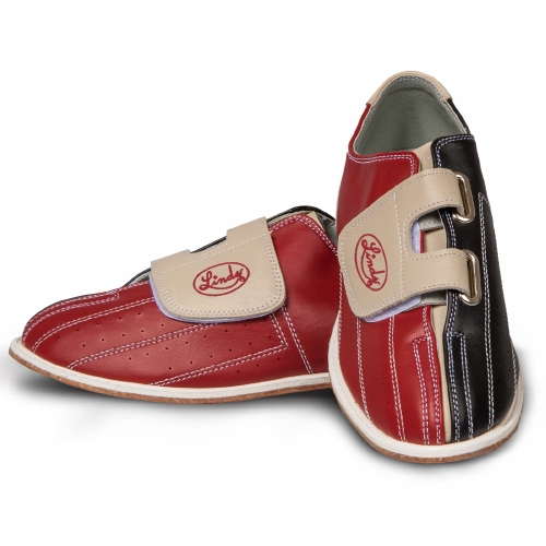 lind's men's CRS rental bowling shoes with Velc