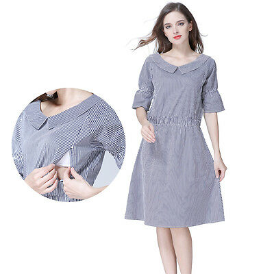 Summer Maternity Clothes Breastfeeding Dresses For Pregnant Women .
