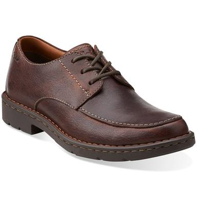 Clarks Stratton Time Lace Up   Mens Casual Shoes   Rogan's Sho