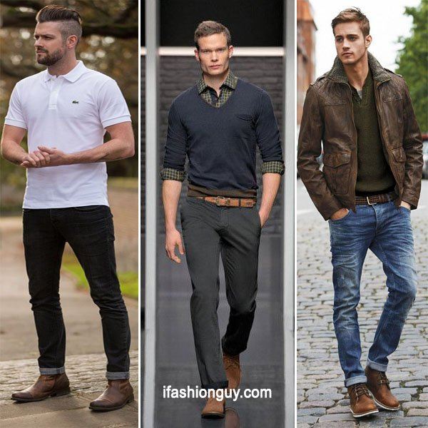 What to wear with brown shoes - With Some Special Ti