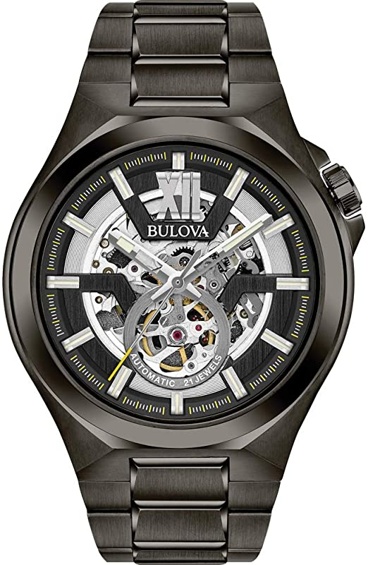 Amazon.com: Bulova Men's Automatic-self-Wind Watch with Stainless .