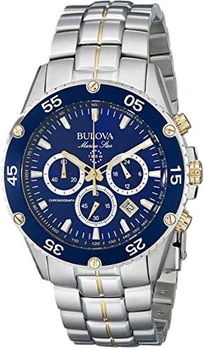 Amazon.com: Bulova Men's 98H37 Marine Star Chronograph Watch .