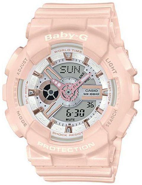 Casio Baby-G Digital Analog Pink Sports Watch BA110RG-
