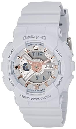 Buy Casio Baby-g Analog-Digital Grey Dial Women's Watch - BA-110GA .