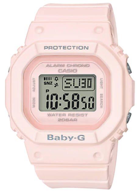 Casio Baby-G Pink Digital Classic Watch BGD560
