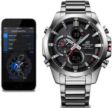 Casio Analogue Bluetooth Watch Edifice Tough Solar ECB-500D-1AER .