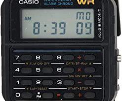 Amazon.com: Casio Men's Vintage CA53W-1 Calculator Watch: Casio .