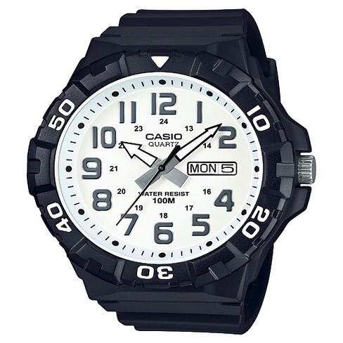 Men's Casio Analog Digital Watch - Black : Targ