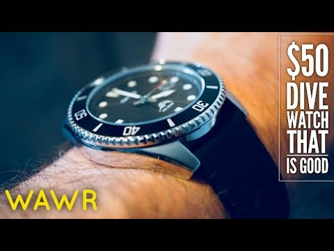 This Dive Watch is $50 and it is AWESOME! Casio Dive Watch MDV106 .