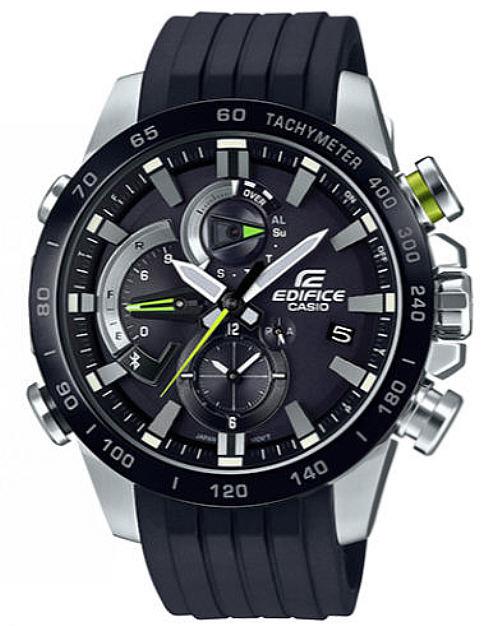 Men's Casio Edifice Bluetooth Solar Powered Watch EQB800BR-