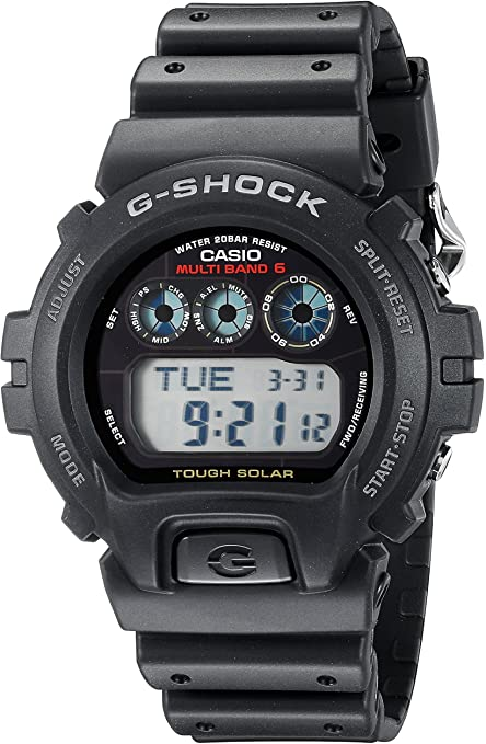 Amazon.com: Casio G-Shock GW6900-1 Men's Tough Solar Black Resin .