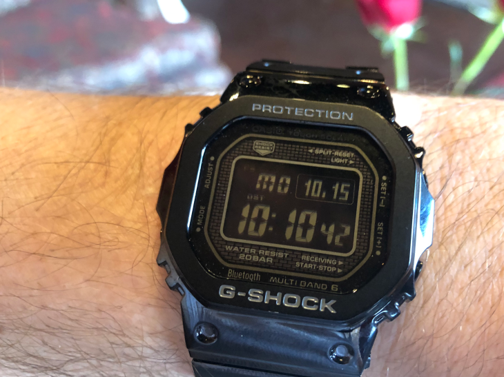 Casio adds modern tech to the classic G-Shock watch | TechCrun