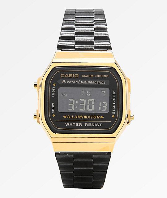 Casio Vintage Black & Gold | Zumi