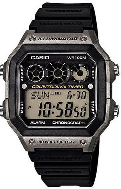 Men's Casio Illuminator Digital Sport Watch AE1300WH-8