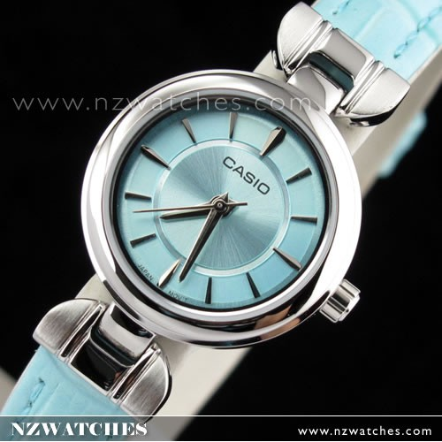 BUY Casio Analog Genuine Leather Strap Ladies Watch LTP-1353L-2A .
