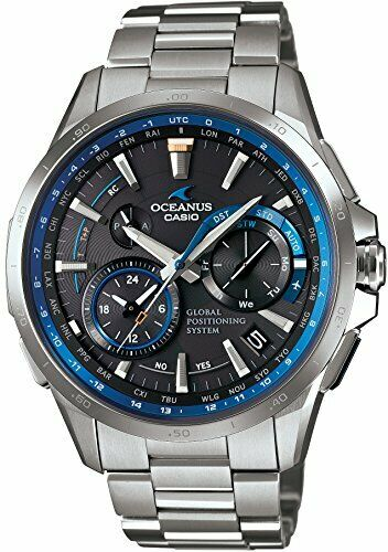 Casio Watch Oceanus GPS Hybrid Radio Solar Ocw-g1000-1ajf Men .