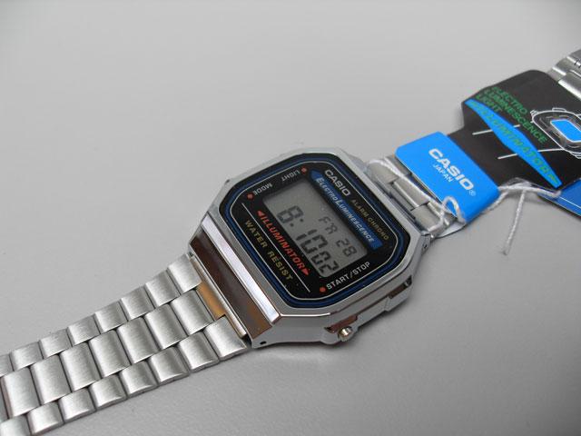 Casio Illuminator retro LCD watch - The Retro Wor