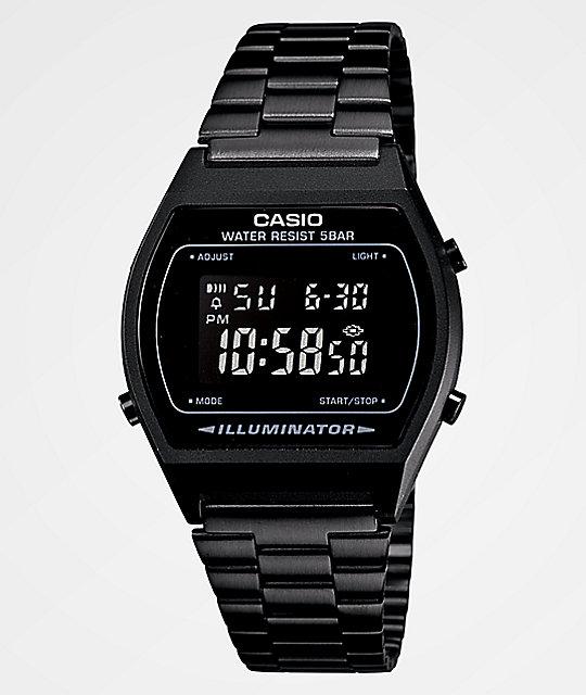Casio Vintage All Black Digital Watch | Zumi