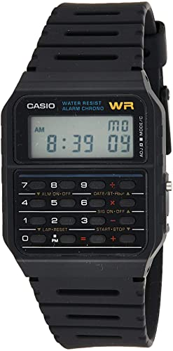 Amazon.com: Casio Men's Vintage CA53W-1 Calculator Watch: Casio .