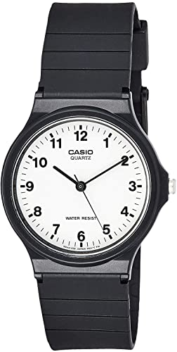 Amazon.com: Casio Men's Quartz Resin Casual Watch, Color:Black .