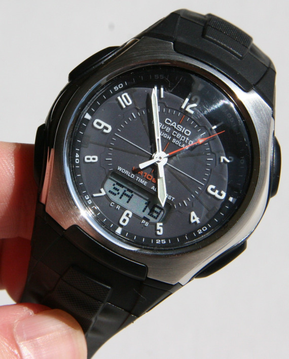 Casio Wave Ceptor WVA430J-1A Watch Review: Solar, Atomic, Simple .