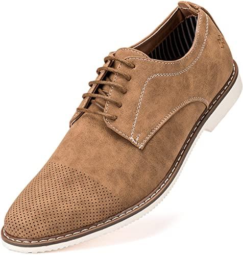 Amazon.com   Mens Casual Shoes, Suede Oxford Business Dress Shoes .