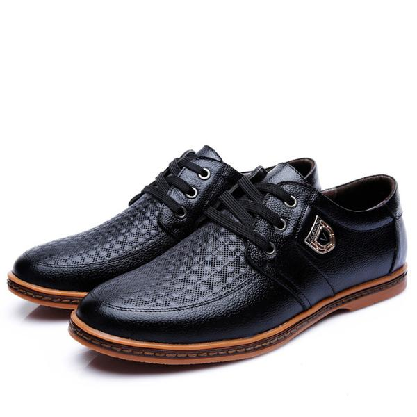 Shoes - New Men's Comfortable Leather Casual Shoes(Buy 2 Get 10 .