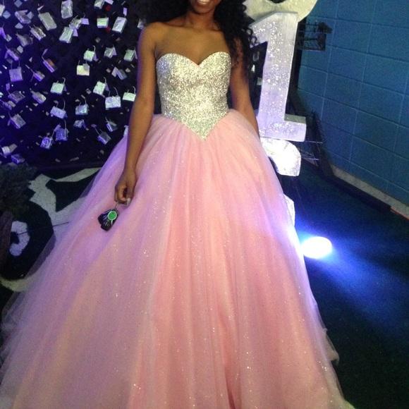 Dresses   Cinderella Ball Gown Prom Dress   Poshma