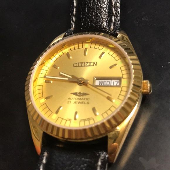 Citizen Accessories   Vintage Mechanical Automatic Watch   Poshma