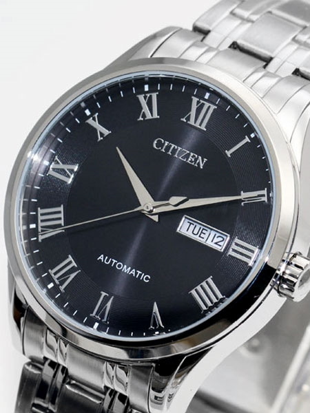 Citizen Automatic Watch with Black Dial #NH8360-8