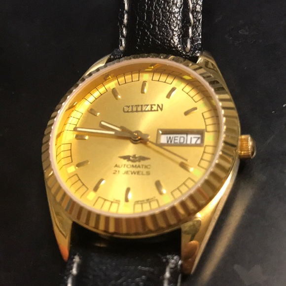 Citizen Accessories | Vintage Mechanical Automatic Watch | Poshma