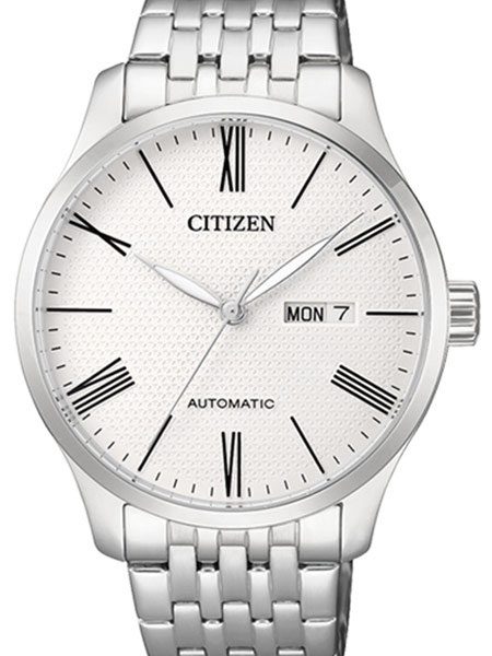 Citizen Automatic Watch with Stainless Steel Bracelet #NH8350-5