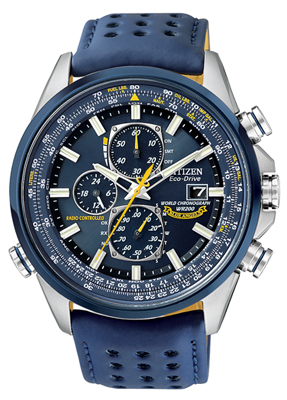 Men's Citizen Blue Angels World Chronograph A-T Watch (AT8020-03L .