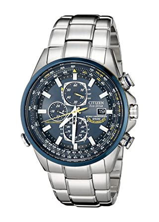 Buy Citizen Men's AT8020-54L Blue Angels Stainless Steel Eco-Drive .